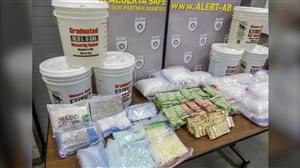 3 million worth of drugs seized in Alberta police make 3 arrests including Punjabi