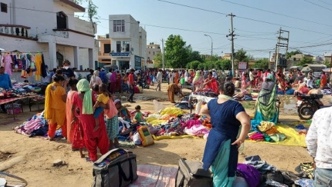 Monday is a curse for the people living on Gulabgarh Road