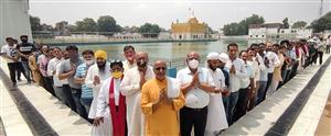 Sarva Dharma Prarthana : ਜਾਗਰਣ ਗਰੁੱਪ ਦੀ ਅਪੀਲ 'ਤੇ ਦੁਆ ਦੇਣ ਲਈ ਉੱਠੇ ਲੱਖਾਂ ਹੱਥ