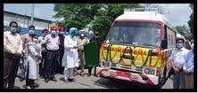 77 new ambulances operational in Punjab says Health Minister