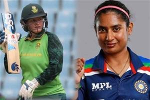 ICC one day women ranking : ਵਨ ਡੇ 'ਚ ਮਿਤਾਲੀ ਰਾਜ ਨਾਲ ਸਿਖਰ 'ਤੇ ਪੁੱਜੀ ਲਿਜੇਲ ਲੀ