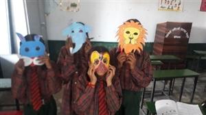 ਸਰਕਾਰੀ ਪ੍ਰਰਾਇਮਰੀ ਸਕੂਲਾਂ 'ਚ ਬੱਚਿਆਂ ਨੇ ਤਿਆਰ ਕੀਤੇ ਸੁੰਦਰ ਮਖੌਟੇ