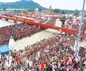 Haridwar Kumbh Mela 2021 : ਮੇਲੇ 'ਚ ਜਾਣ ਵਾਲੇ ਸ਼ਰਧਾਲੂਆਂ ਨੂੰ ਰੇਲਵੇ ਸਟੇਸ਼ਨ 'ਤੇ ਮਿਲੇਗਾ ਵੈਸ਼ਨੋ ਭੋਜਨ