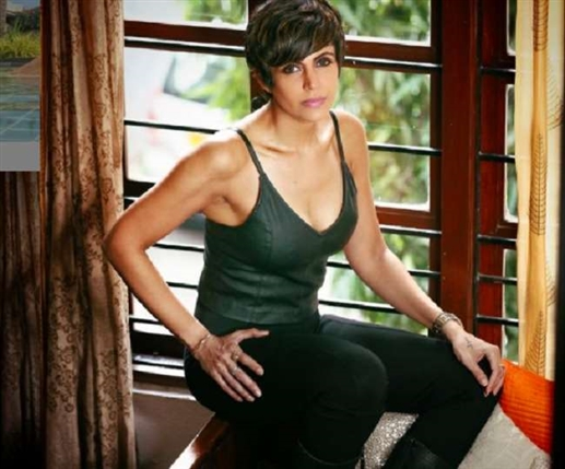 Happy Birthday Mandira Bedi Mandira Bedi famous from house to house