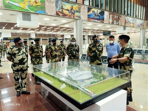 DG Rakesh Asthana inspects Kartarpur Passenger Terminal