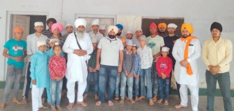 Mata Jeeto ji s maternity institution celebrate khalsa sajna divas