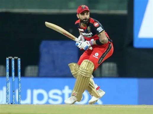 IPL 2021 Virat Kohli vents anger in chair after dismissal video goes viral