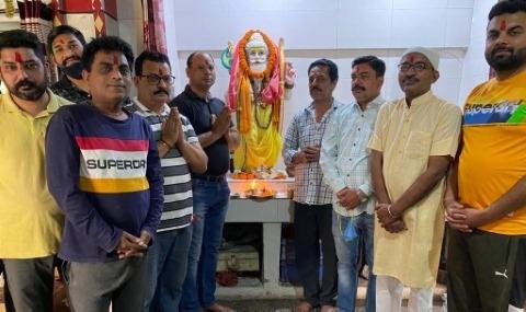 Establishment of idol of Lord Parshu Ram