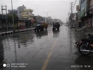Relief from heat with light rains in Bathinda district | ਹਲਕੀ ਬਾਰਸ਼ ਨਾਲ ਬਠਿੰਡਾ ਵਾਸੀਆਂ ਨੂੰ ਮਿਲੀ ਗਰਮੀ ਤੋਂ ਰਾਹਤ