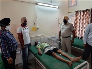Gangster  in New District Jail Nabha attempted suicide reveals shocking reasons | ਲਾਭਾ ਜੇਲ੍ਹ 'ਚ ਬੰਦ ਗੈਂਗਸਟਰ ਨੇ ਕੀਤੀ ਖ਼ੁਦਕੁਸ਼ੀ ਦੀ ਕੋਸ਼ਿਸ਼