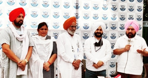 Former MLA Mehtab singh joins Aam Aadmi Party along with his associates