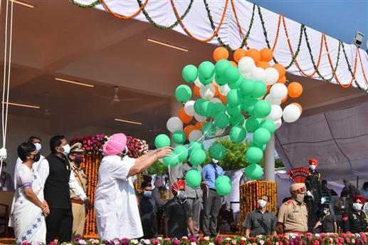 Captain Amarinder Singh speech on Independence Day