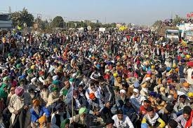 farmers protest and central govt