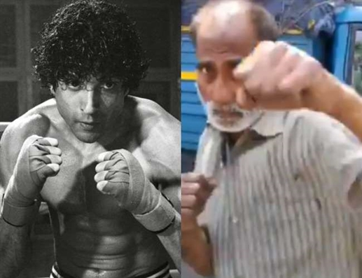 Saddened by the plight of the national boxer Farhan Akhtar offered to help sharing the video