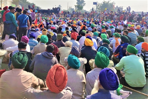 Farmers Protest Confrence