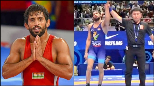 Asian Wrestling Championship Bajrang out of final Ravi wins gold