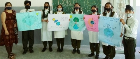 World Ozone Day celebrated at Greenfield Convent School, Dangarh