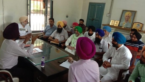 Director Horticulture Heard The Problems Of Farmers From Punjab