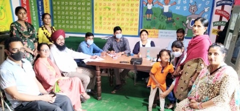 Camp for identification of special needs children