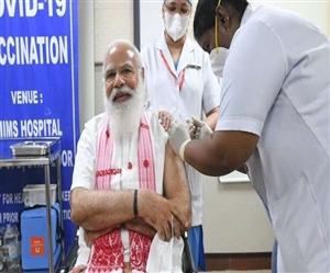 100 Crores Vaccine Dose : ਪੀਐੱਮ ਮੋਦੀ ਨੇ ਦਿਖਾਈ ਰਾਹ ਤਾਂ ਆਸਾਨ ਹੋਈ ਮੰਜ਼ਿਲ, ਵਧੀ ਟੀਕਾਕਰਨ ਦੀ ਰਫ਼਼ਤਾਰ