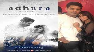 Enternainment News Poster release of Sidharth last song Adhura chemistry with Shahnaz