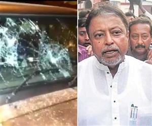 West Bengal Violence: ਮੁਕੁਲ ਰਾਏ ਦੀ ਗੱਡੀ ਦੀ ਕੀਤੀ ਭੰਨਤੋੜ, ਭਾਜਪਾ ਆਗੂਆਂ ਨੂੰ ਮਕਾਨ 'ਚ ਘੇਰ ਰੱਖਿਆ