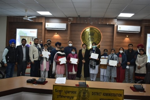 Winners of different competition honored by 43