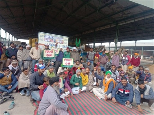 protest against agriculther laws