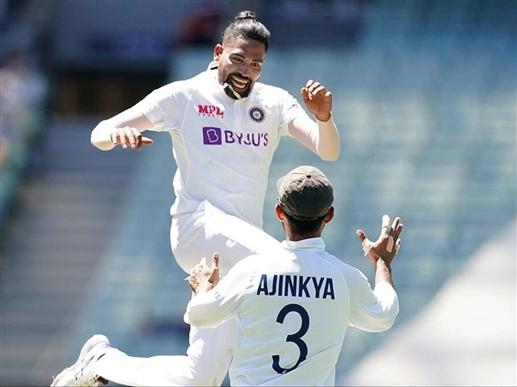 Siraj five wicket haul helped the Kangaroos to 294 runs