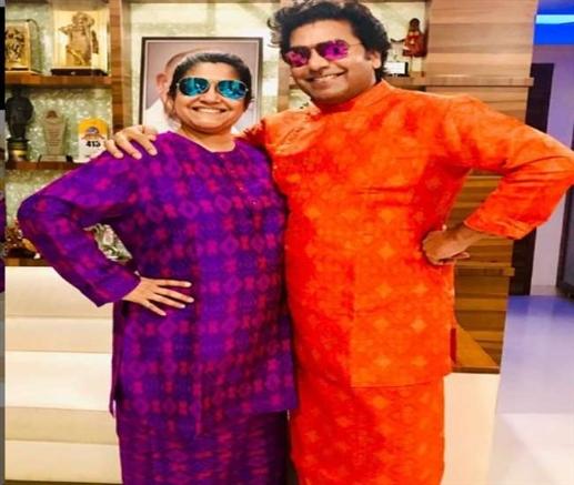 Bollywood news ashutosh rana wife renuka shahane and two sons test positive for covid