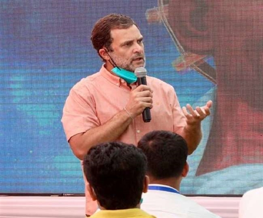 National News Rahul gandhi suspends all his rallies in west bengal in view of covid situation