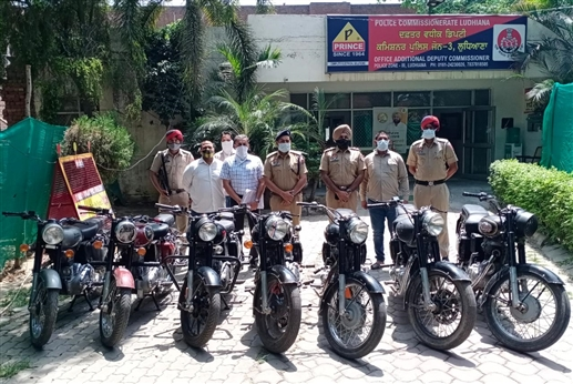 Bullet motorcycle theft with Master Ji three gang members arrested major revelations made during remand