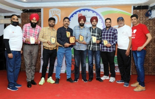 Cycle riders team got 7 medals