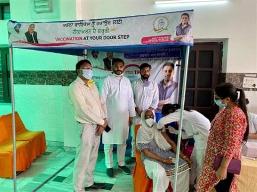 corona virus vaacination camp patiala news punjabi jagran