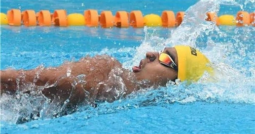 Srihari Natraj wins gold with national record, hopes for Olympic qualification from Sajan Prakash