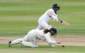 India 83 for one in the second innings