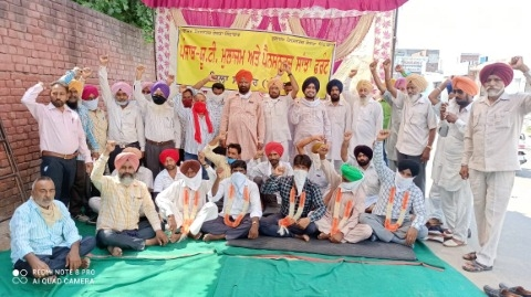 Employees and pensioners go on hunger strike for third day