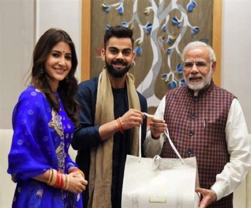 Narendra Modi thanks to Virat Kohli