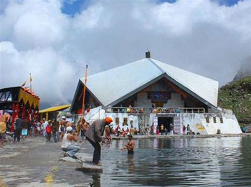 Doors of Hemkunt Sahib and Laxman Temple also opened more than a hundred devotees bowed on the first day