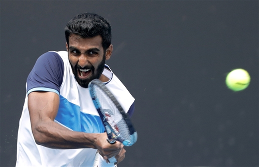 Pragnesh and Ramkumar lose in Davis Cup