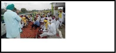 BKU protes against centrer