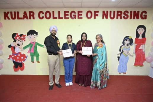 Farewell Ceremony at Kular College of Nursing