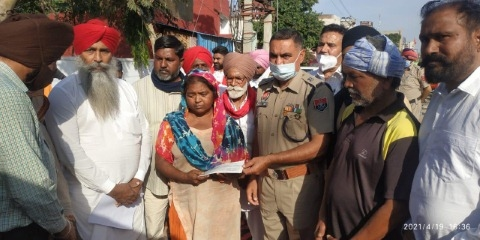 admin give 5 lacs to family of person died in police custody