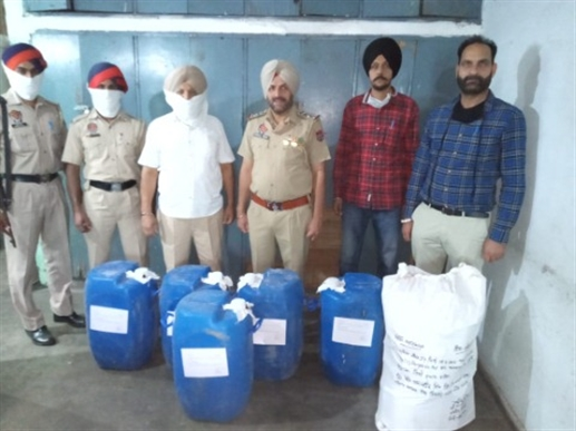 Two liquor smugglers caught by CIA staff