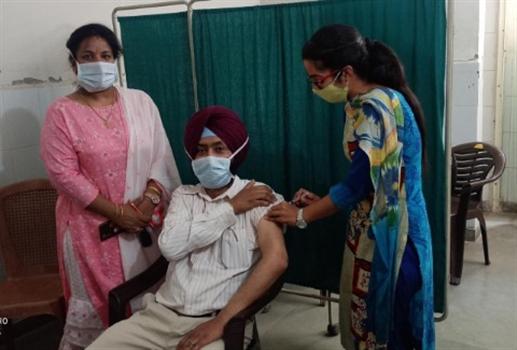 corona virus new cases vaccine sampling patiala news punjabi jagran