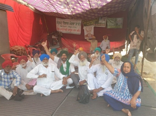protest against agriculture laws