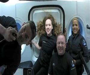 ਵਾਪਸ ਆਇਆ Inspiration4 X Crew, ਐਲਨ ਮਸਕ ਨੇ ਦਿੱਤੀ ਵਧਾਈ ਤੇ ਸਪੇਸ ਐਕਸ ਨੇ ਕਿਹਾ- Welcome Back!