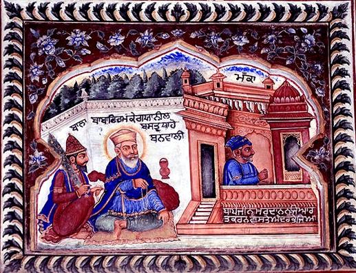 ਇਤਿਹਾਸਕ ਘਟਨਾਵਾਂ ਦੀ ਕਲਾਤਮਿਕ ਪੇਸ਼ਕਾਰੀ ਕਰਦੇ ਕੰਧ ਚਿੱਤਰ