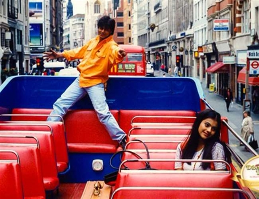 A statue of Kajol by Shah Rukh Khan will be seen on the famous square of London