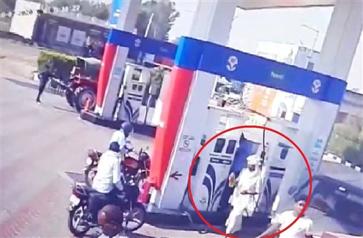 Priest murder case petrol purchase video goes viral